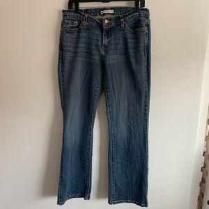 ⭐️3/$25 Levi's 529 Curvy Boot cut denim jeans